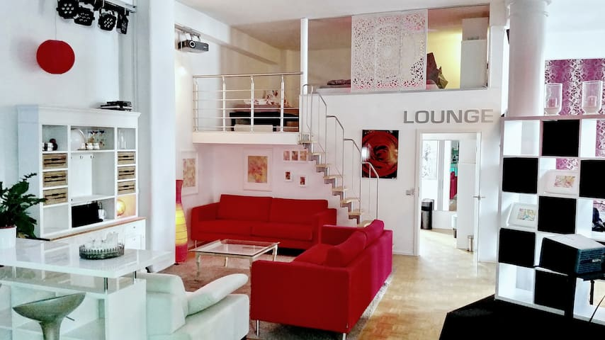 Be-Lounge, classy Loft Apartment belgian quarter