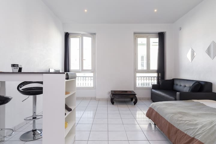 -- RENOVATED APPARTMENT DOWNTOWN NICE--