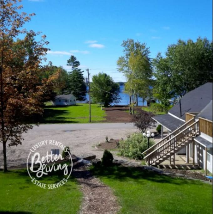 2+ acre property accessible off main road with plenty of greenspace and
