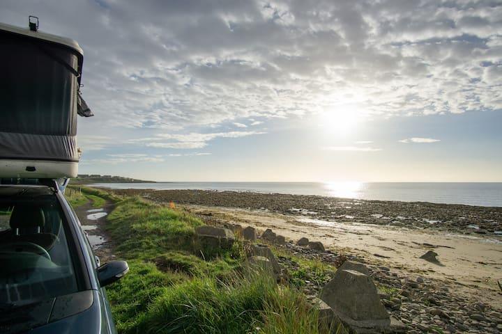 Auto Dachzelt für spontanes Abenteuer