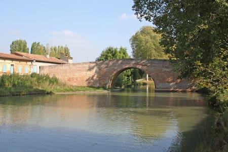 Chambre pour deux personnes près de Toulouse - Montesquieu-Lauragais - Dům