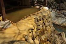 Reserved Open Air Bath,Hot Springs.(6 Baths)