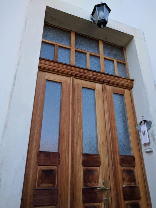 Eingangstüre - Porte d'entrée