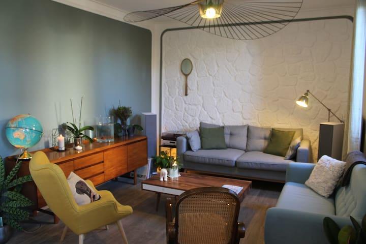 Charming & calm Blue House - Argenteuil - House
