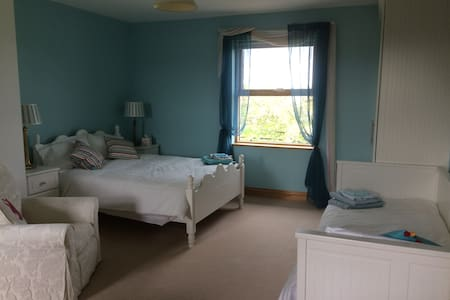 Bracklin Bridge Country House and Stables (Room 1) - Westmeath - Szoba reggelivel