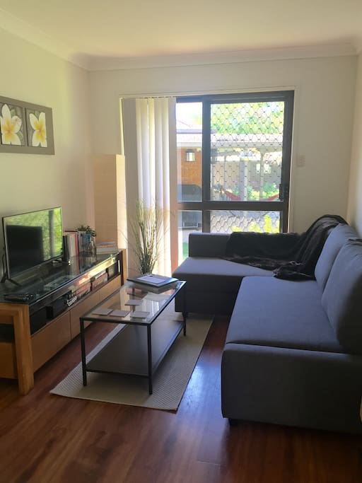 Living Area with TV, Sofa-bed, DVD & Free Wi-Fi
