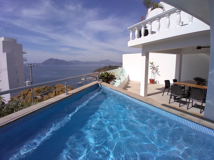 Manzanillo Private Plunge Pool Ocean Views