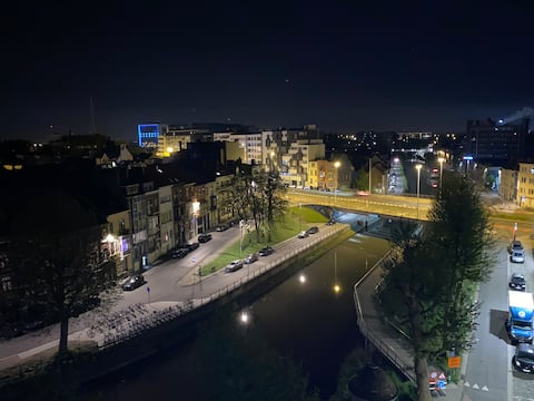 Free parking- Cosy apartment in centre of Ghent