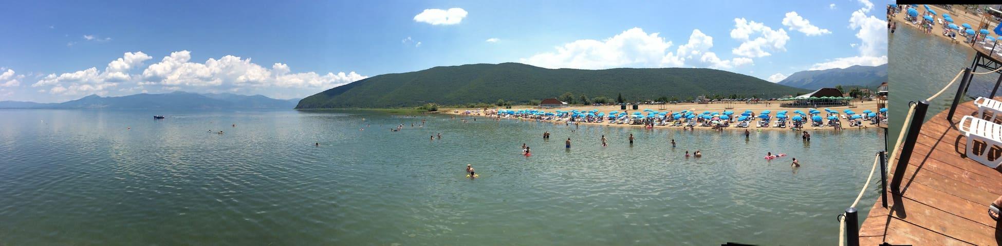 Vila Mare, Prespa lake