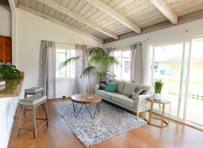 Minimalist Hawaiian Rental