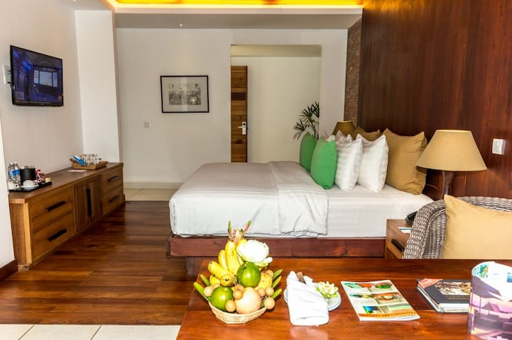 Modern wooden retreat in Charming City - Krong Siem Reap - Lejlighed