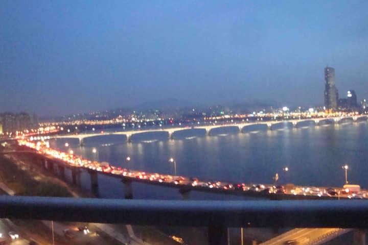 [Seoul]Center of Seoul,River side,City view!