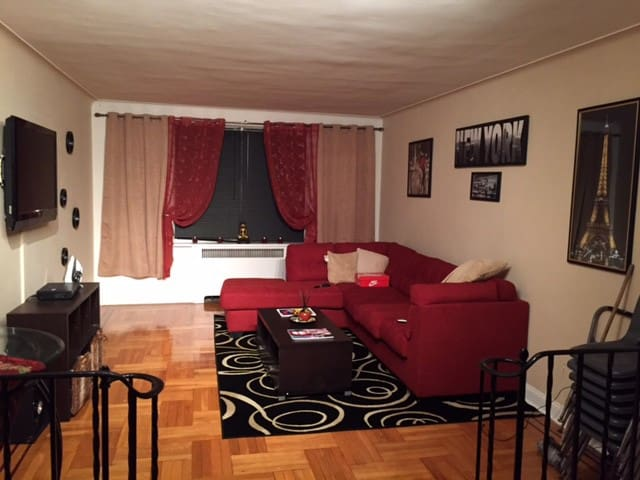spacious, clean place in quiet building - Bronx - Departamento