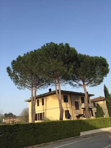 Villa with terrace near Siena Arezzo Firenze WiFi
