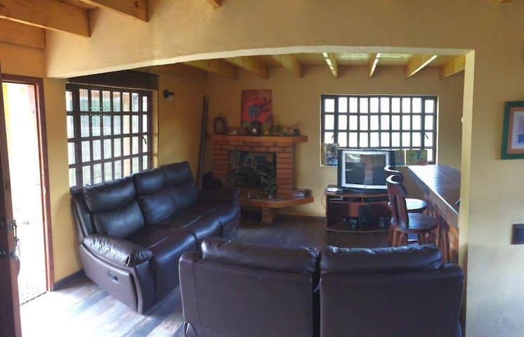 Casa Villa Castillo en Tomine de Indios - Guatavita - Haus