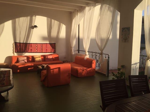 Beautiful villa on the beach