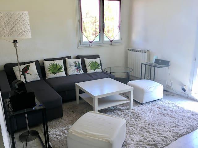 Appartement résidence calme proche centre ville - Montpellier - Appartement en résidence