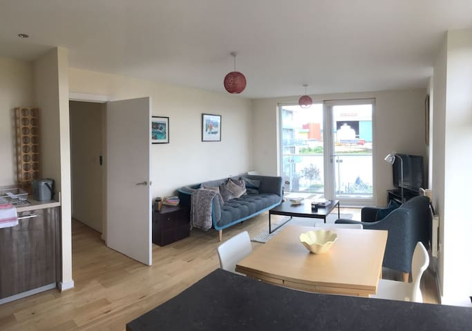 2 Bedroom Apartment by the River Clyde