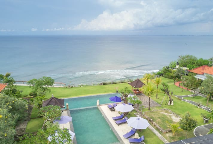Million$ SeaView cabins above Ocean Cliffs #OS1 - Kuta Selatan - Kabin