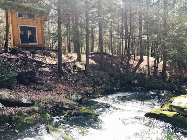 Waterfall Bunkie (Off-grid) on 100 acres + Trails! - Orillia - Andet