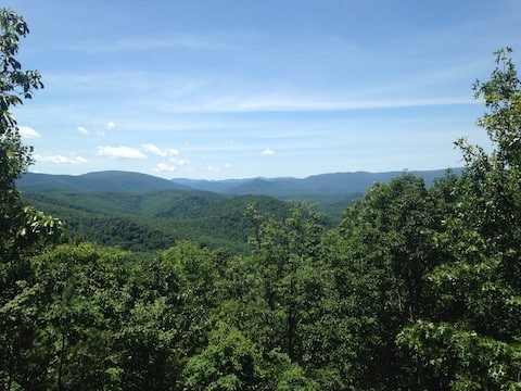 Stunning mountaintop views,  near Blue Ridge Pkwy
