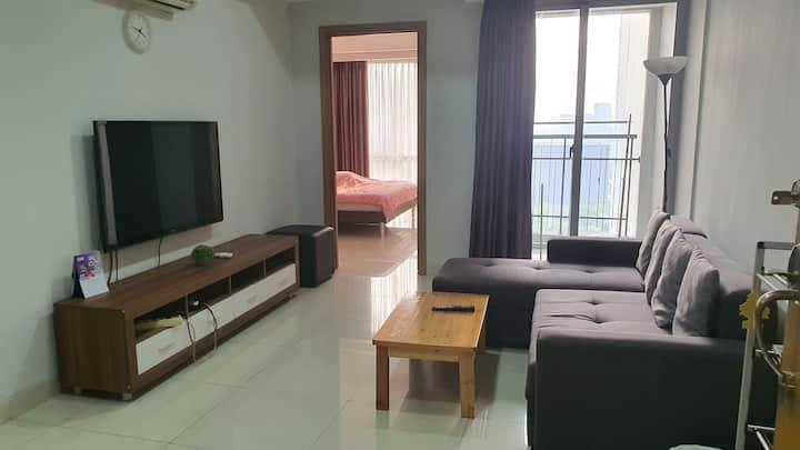 Cozy & convenient 1BR @ dukuh golf kemayoran