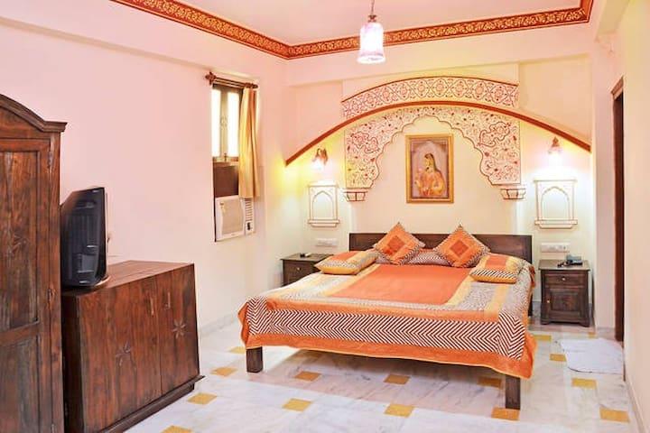 Jaislmer inspired Suite in heart of Jaipur city