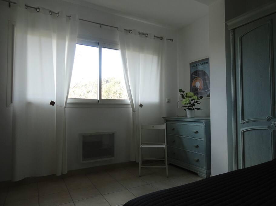 Chambre côté fenêtre