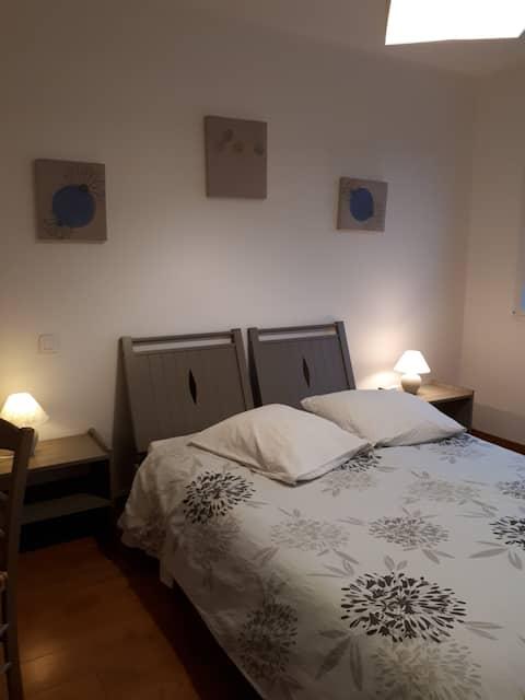 Chambre au calme dans site classé du Stangala