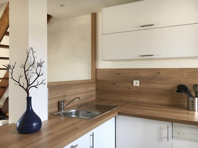 Appartement en duplex entièrement rénové en 2019