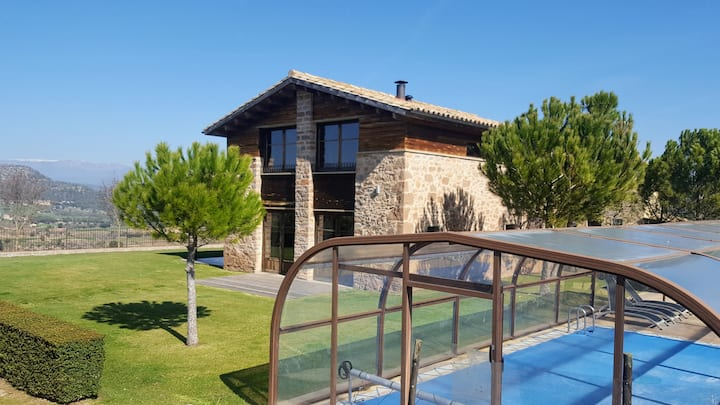 Rural House with Private Pool and air-conditioned