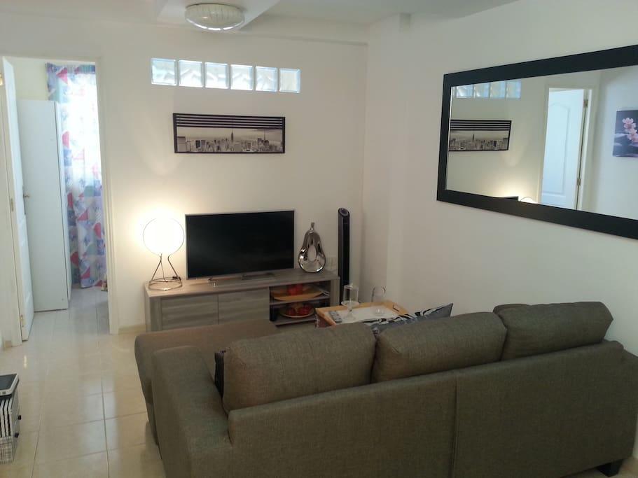 Sala de estar y television