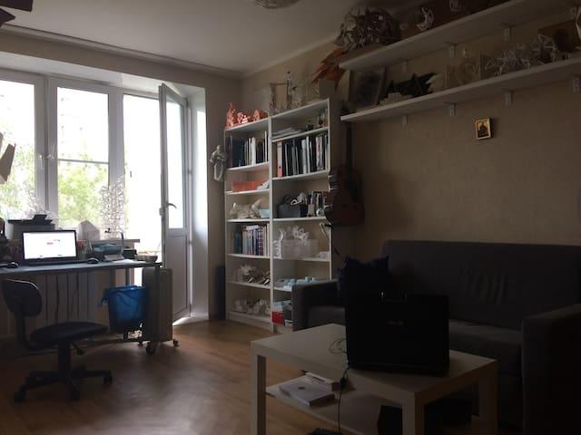 Дом  с  видом  на  Останкинскую  телебашню.