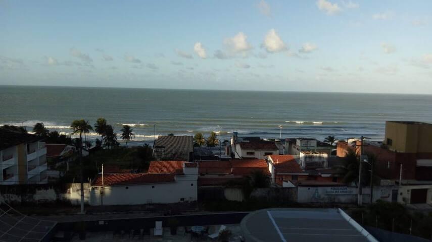 Flat em Ponta Negra/Natal com Vista para o Mar!