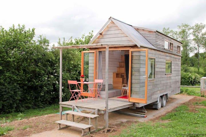 Mini-maison en campagne, proche Granville et mer