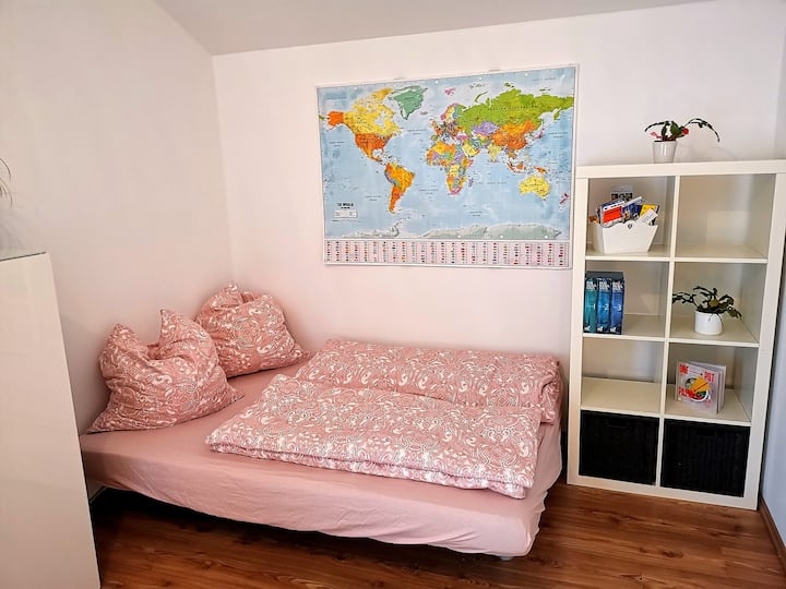 Room with a prime location, 40 sqm terrace