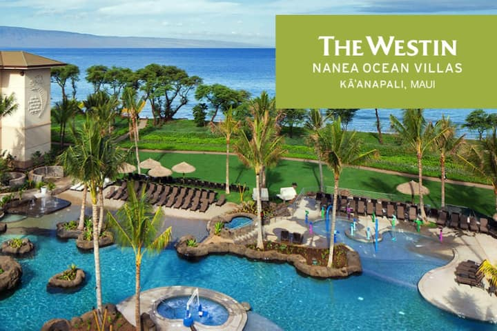 Westin Nanea 2 Bed Villa Maui 4 Nights  Oceanfront