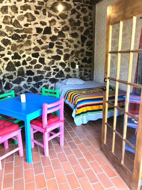 CASA AMIGA Colorful Mexican Ranch Style Studio