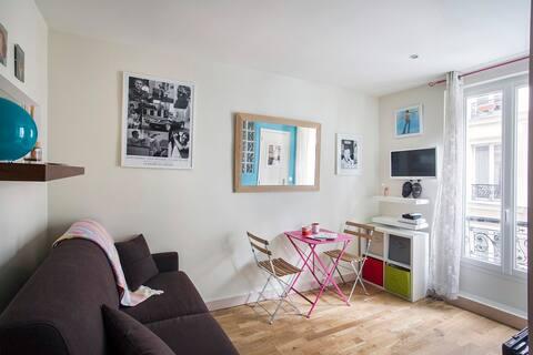 Cosy studio heart of Montmartre