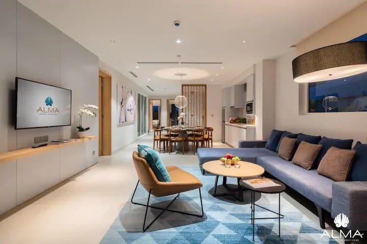 ALMA 5* Resort \ Entire Apartment best suit groups