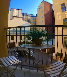 (35m2) Spacious apartment, near sea & center