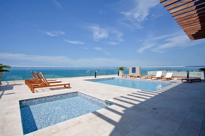 Lujoso y espectacular apartamento en Cartagena - Cartagena - Apartment