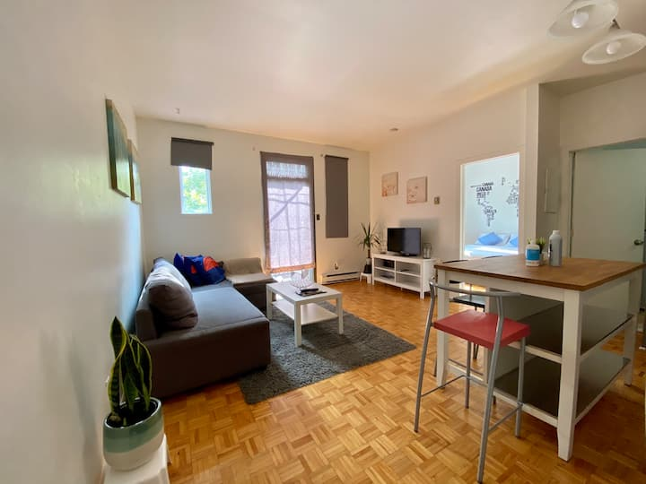 Beautiful 1BD in heart of Plateau Mont-Royal,
