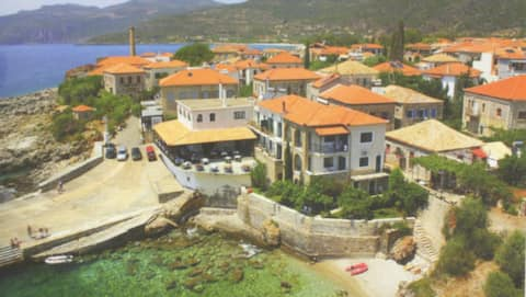 Kardamili Home at the Sea with fantastic View