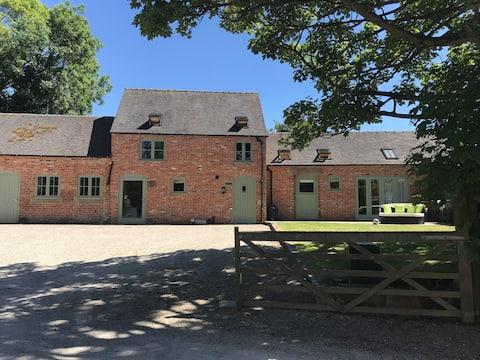 Stunning Derbyshire barn conversion