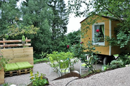 Tiny House inmitten der Natur