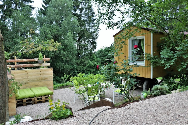 Tiny House inmitten der Natur