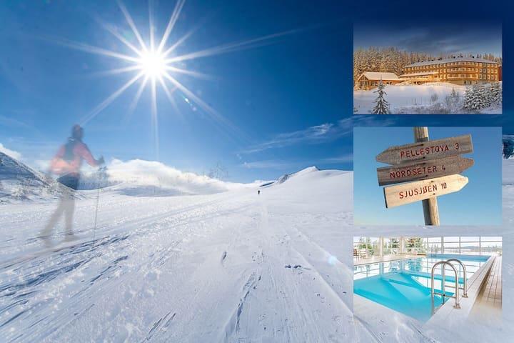 On the top of the World @ Nordseter, Lillehammer - Lillehammer - Condominium