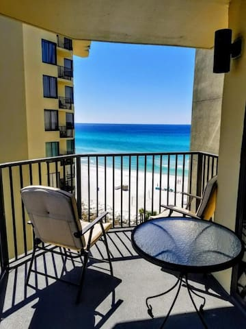 Enjoy fall on the white sands of PCB