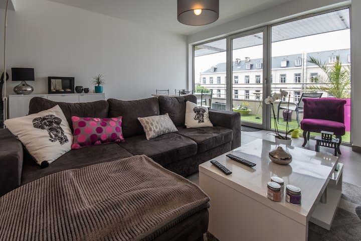 Beau T2 centre ville proche gare - Saint-Brieuc - Appartement